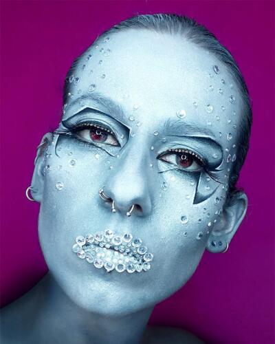 Diamond makeup by me
