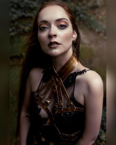 For Gothic and AmazingModel: Diana RosaOutfit: SkyPirate CouturePhoto: APOV Visual ArtistMUA: Clyo Makeup