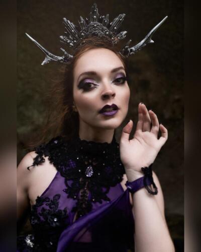 Model: Diana RosaPhoto: APOV Visual ArtistMUA: Clyo MakeupDress: Avalon SaezHeadpiece: Hysteria Machine